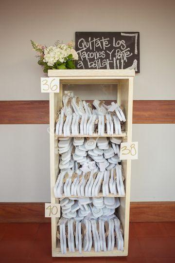 Ideas para tacones en la boda