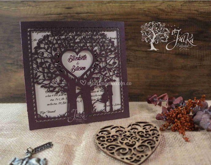 Invitación árbol de la vida