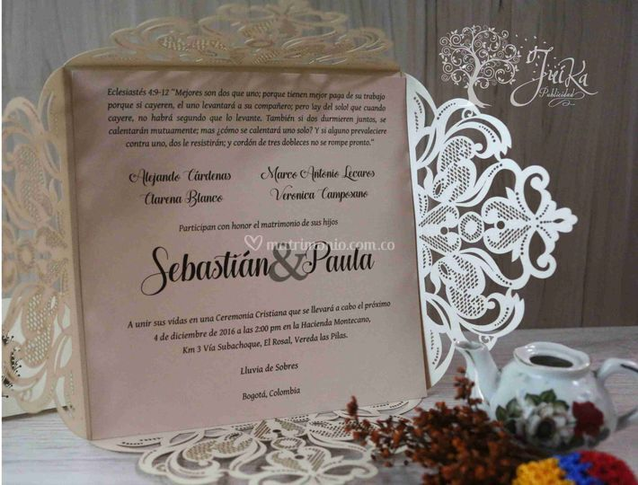 Invitación sofisticada
