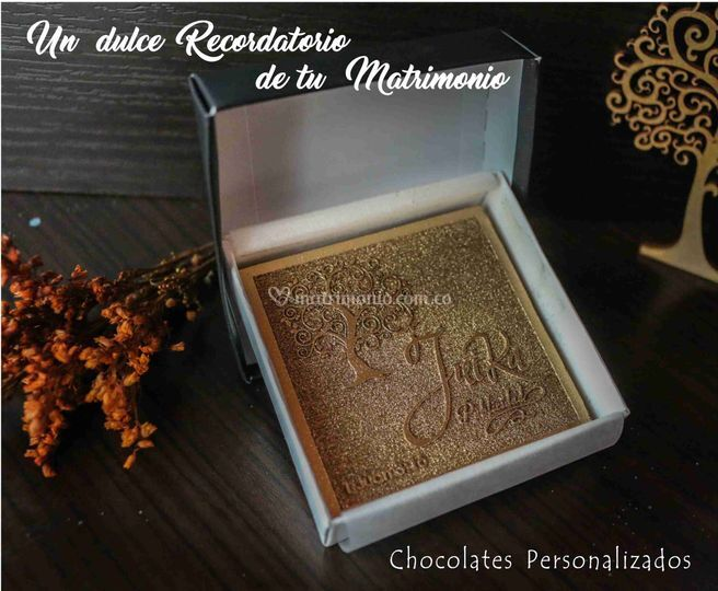 Invitación chocolate
