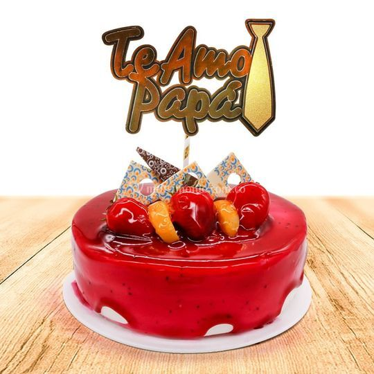 Torta sabor fresa