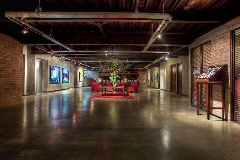 Lobby / Galería de arte
