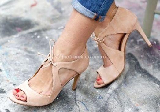 Sandalias escotadas