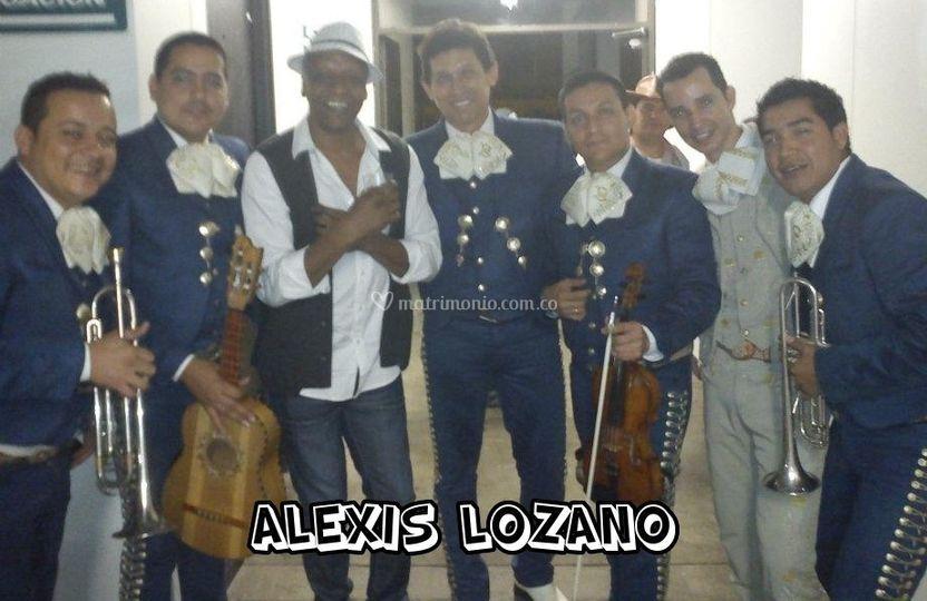 Con Alexis Lozano