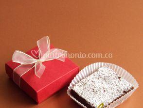 Brownie en caja