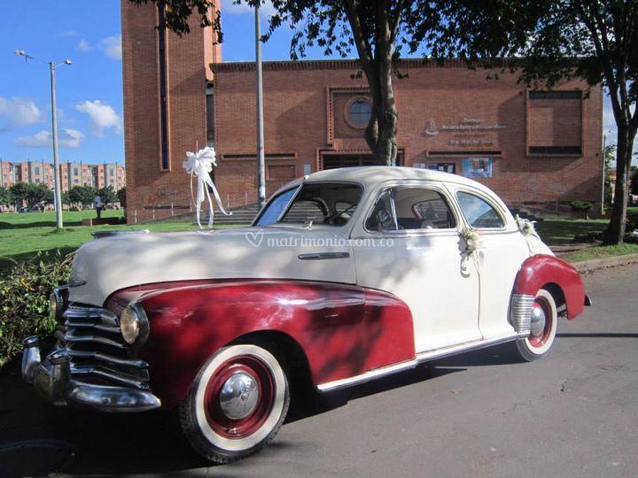 Chevrolet 1947 boda
