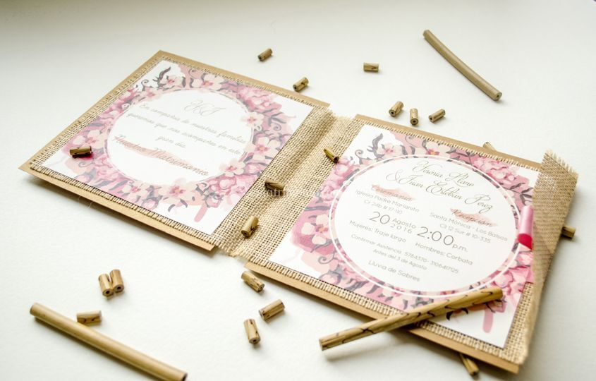 Invitaciones Matrimonio Medellín