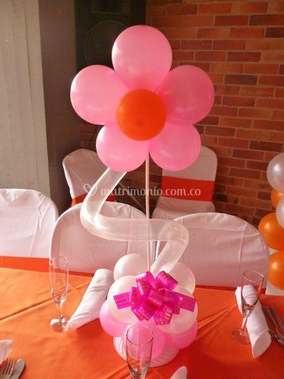 Centro de mesa flor