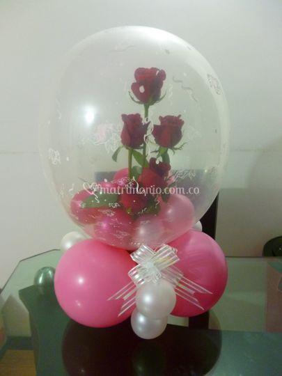 Rosas englobadas