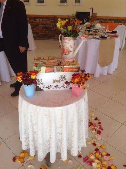 Casa de banquetes luisa fernanda - Buzon vintage ...