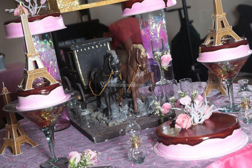 Ponqués y fiestas temáticas
