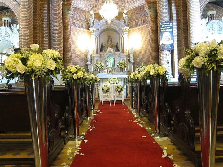 Iglesia para su matrimonio
