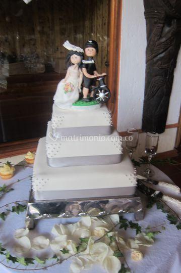 Bizcocho para su boda