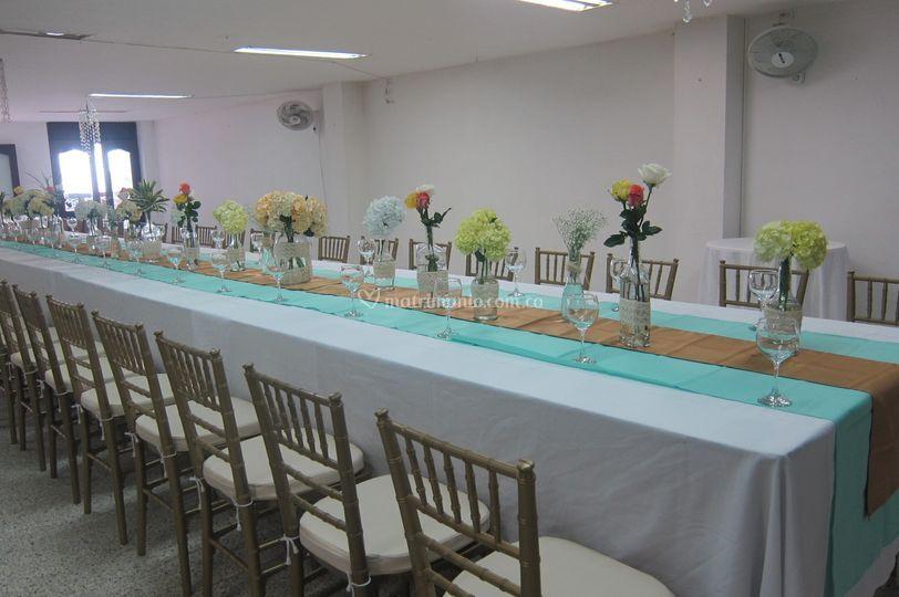 Centros mesa
