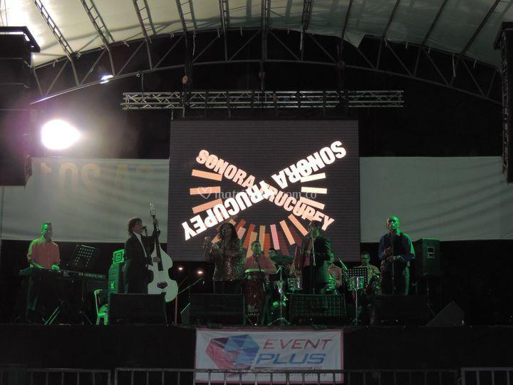 Sonora trucupey en festival