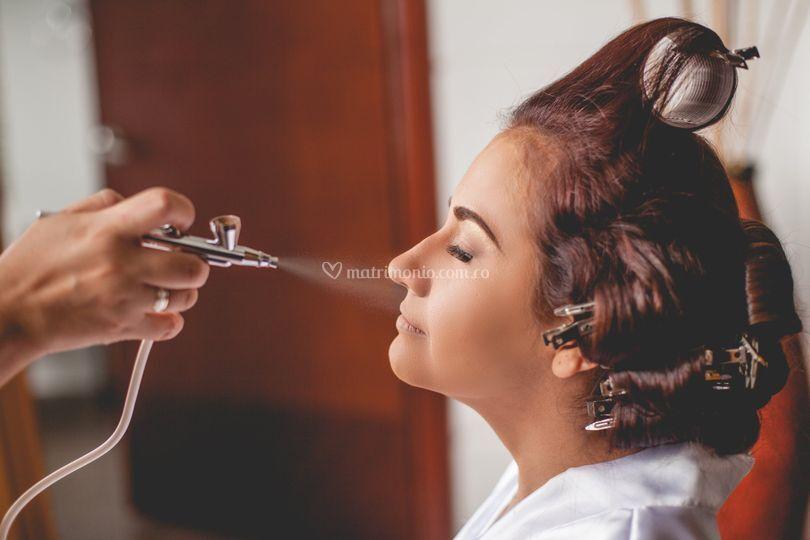 Maquillaje de la novia