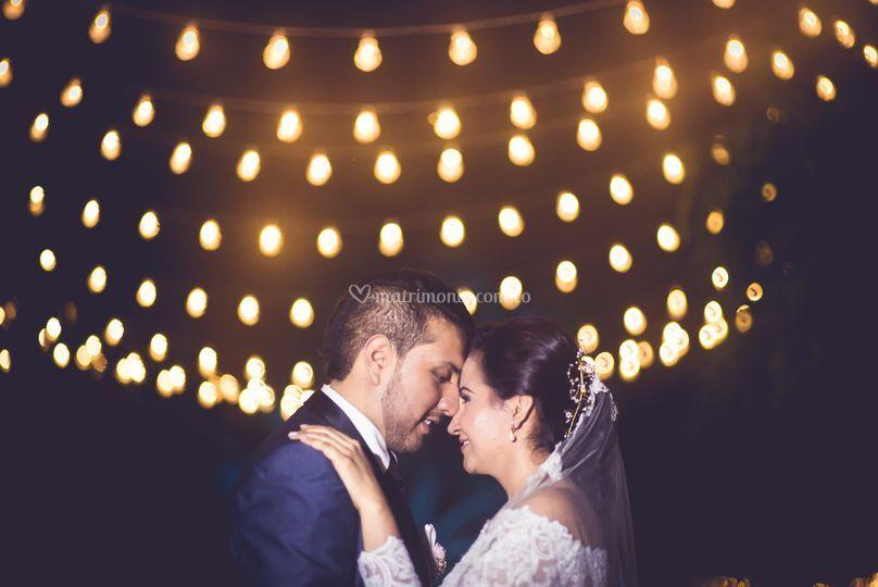 Luces de noche novia