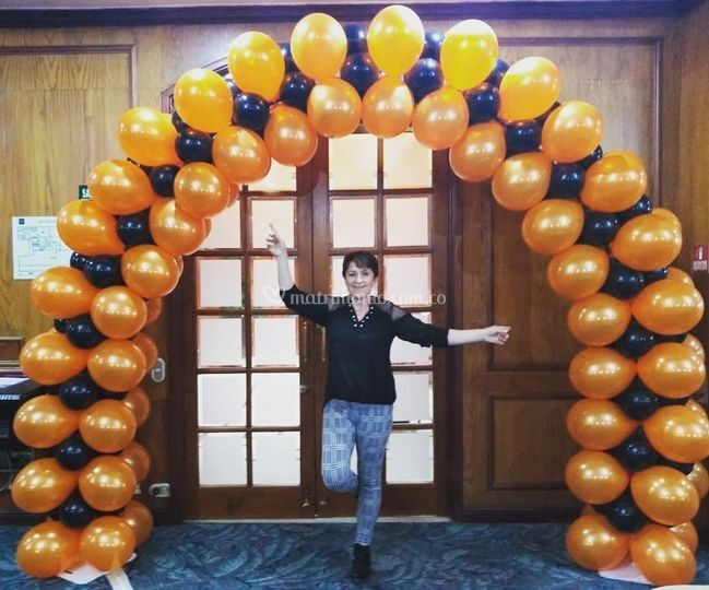 Arcos con globos