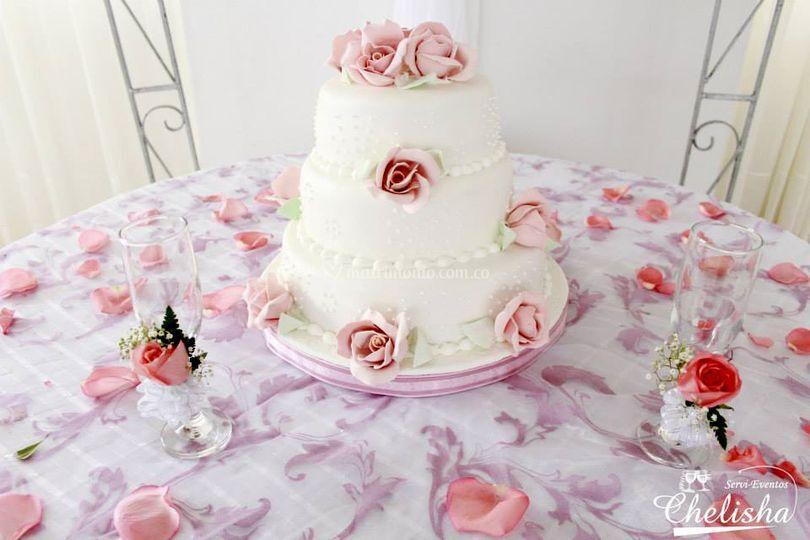 Torta palo de rosa