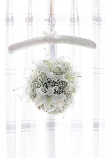 Bouquet en esfera