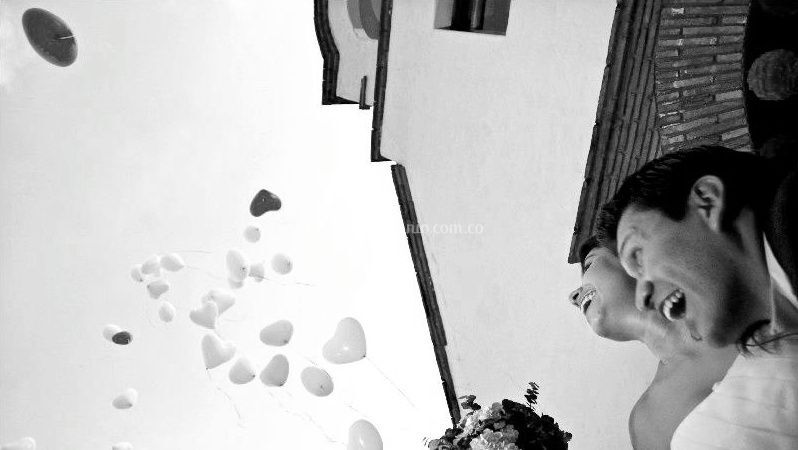 Bombas de helio para matrimonio