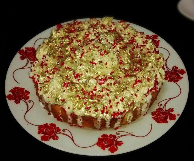 Torta de piña colada