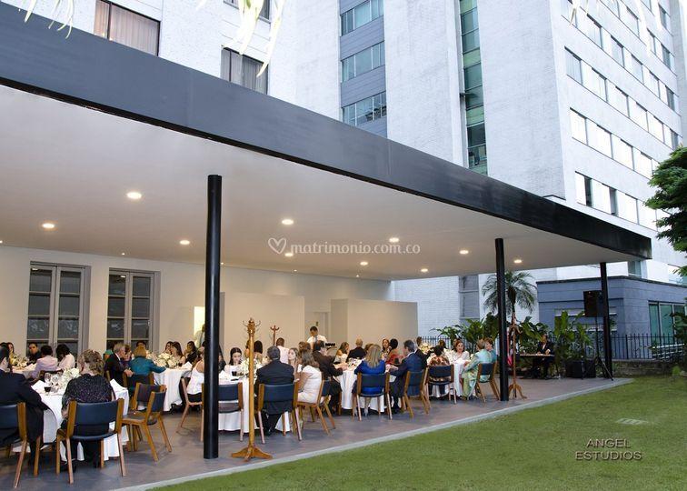 La terraza - cubierta