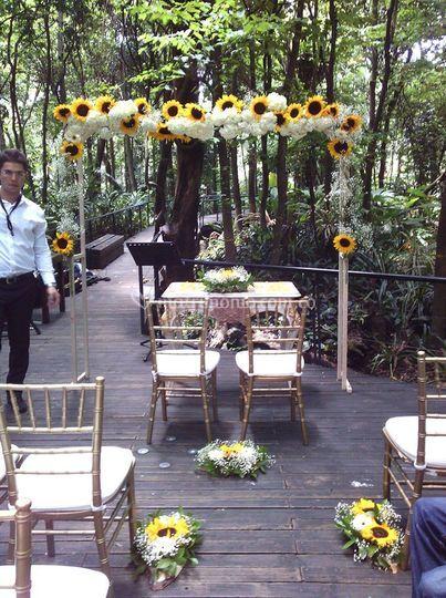 Amore bodas for Restaurante jardin botanico