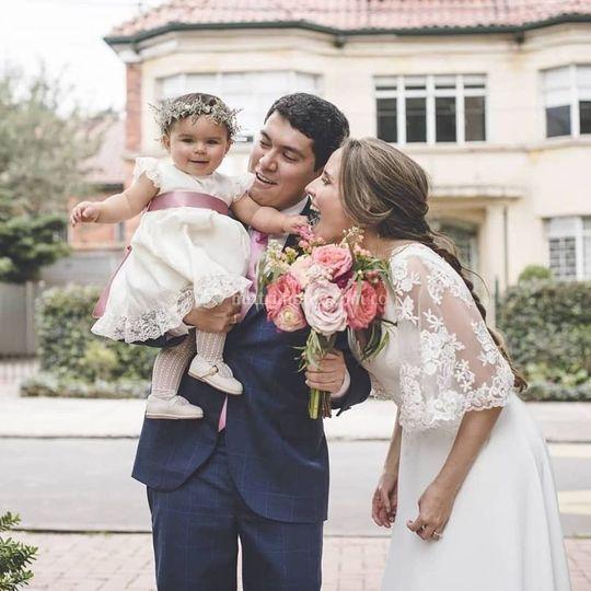 Bouquet de flores para novia