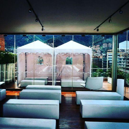 Montaje terraza