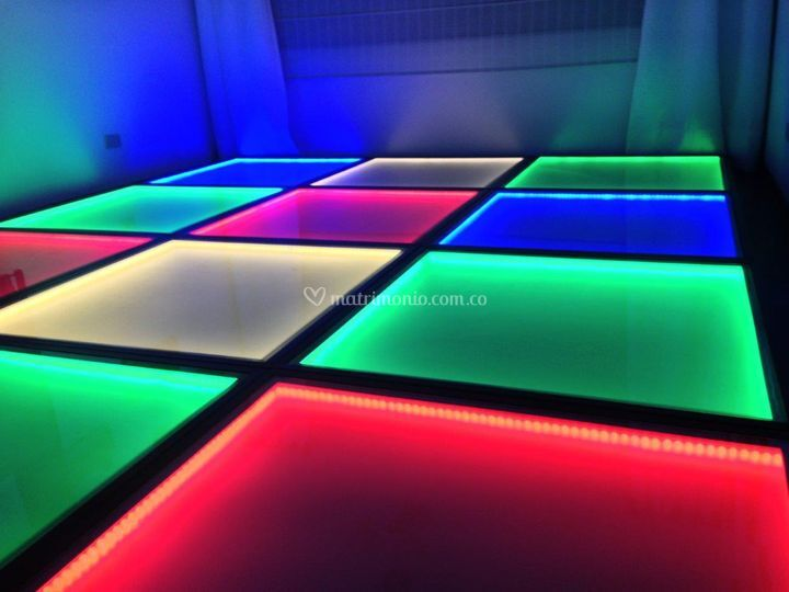 Pista de baile en LED