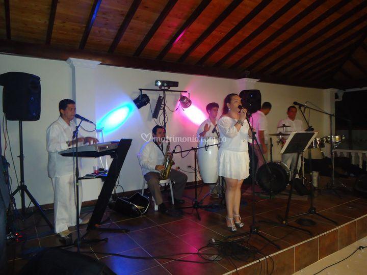 Formato de 6 músicos