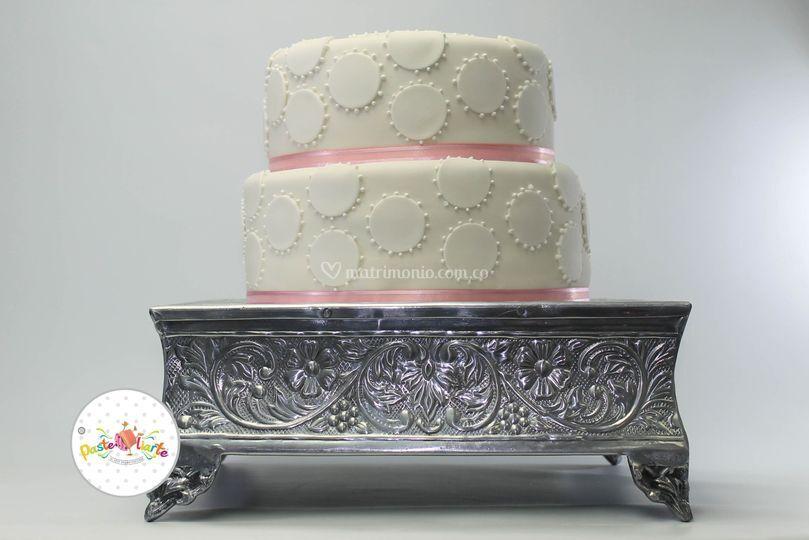Torta Con filigrana