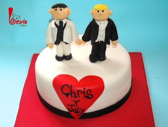 Torta matrimonio gay