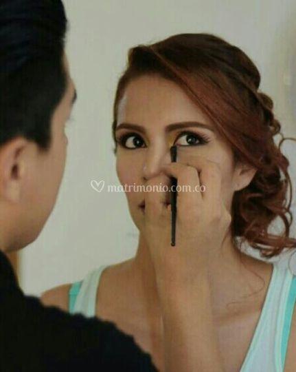 Pre boda novia maquillaje SA