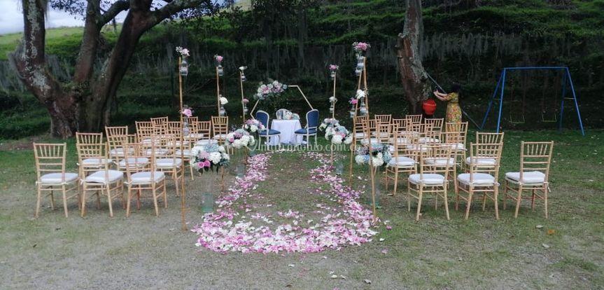 Altar de ceremonia
