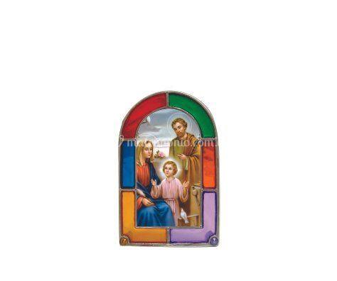 Vitral mini ilustración famili