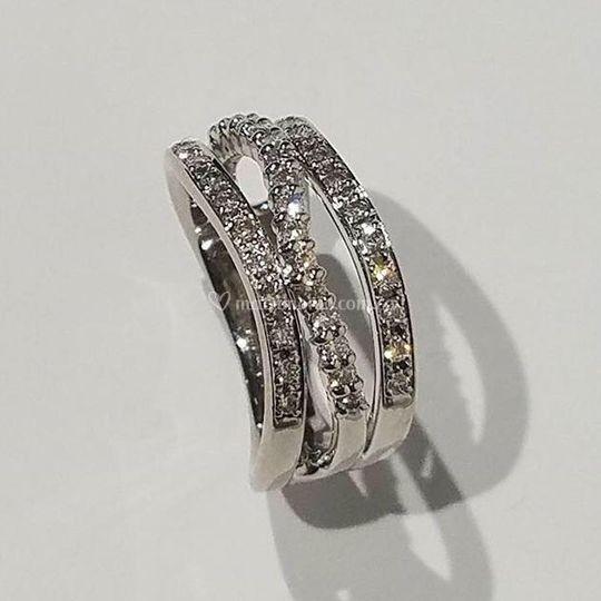 Plata y diamantes