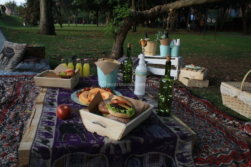 Hindú y comida deli