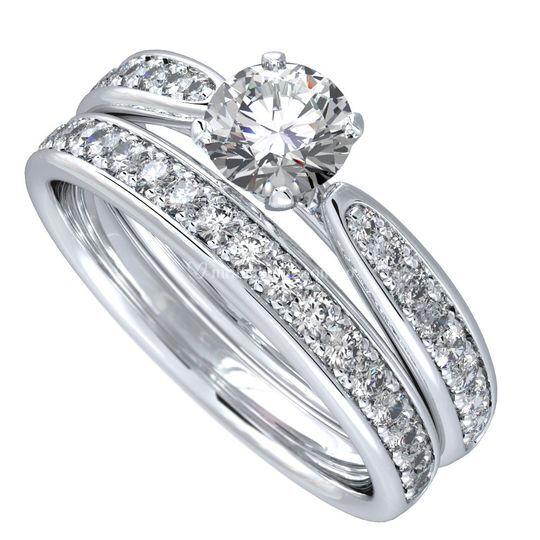 Set de anillos matrimonio
