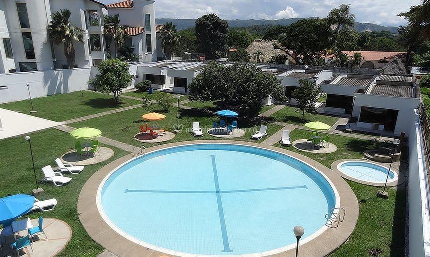 Zona social piscinas