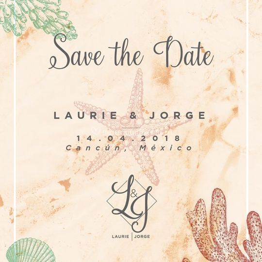 Diseño save the date
