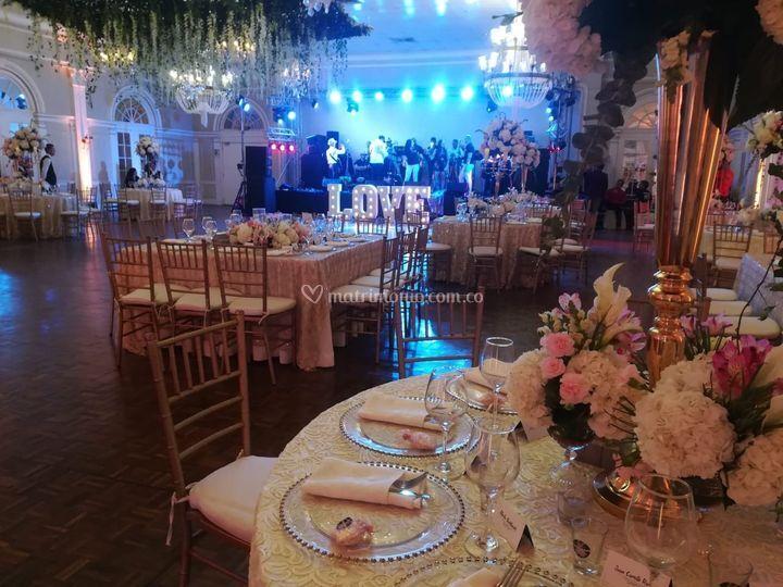 Classic Wedding Indoor