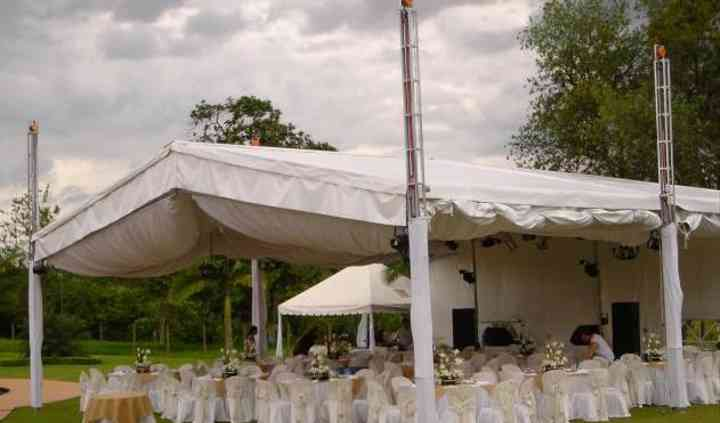 Carpa para boda