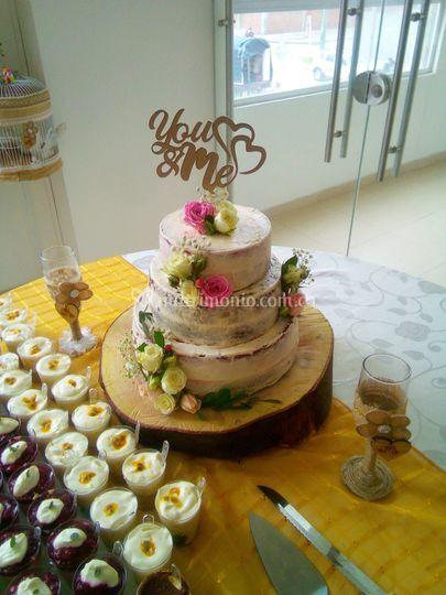Postres y torta