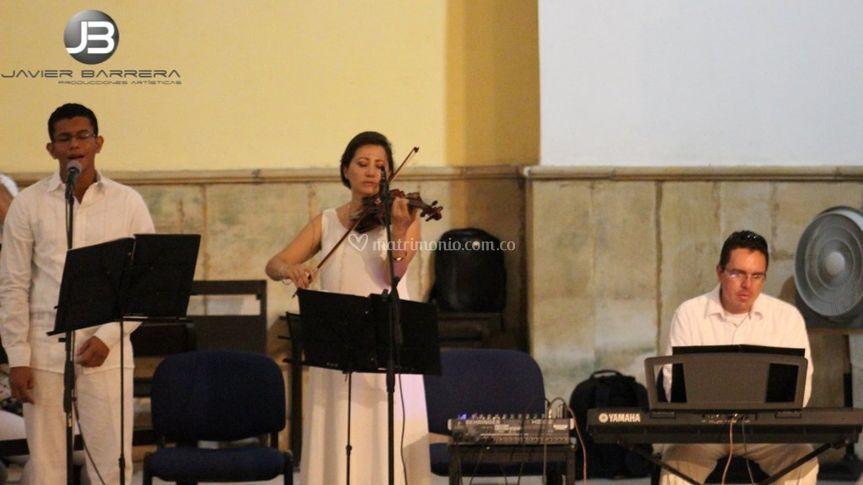 Musica para la iglesia.