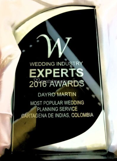 Premio 2016 Wedding Industry