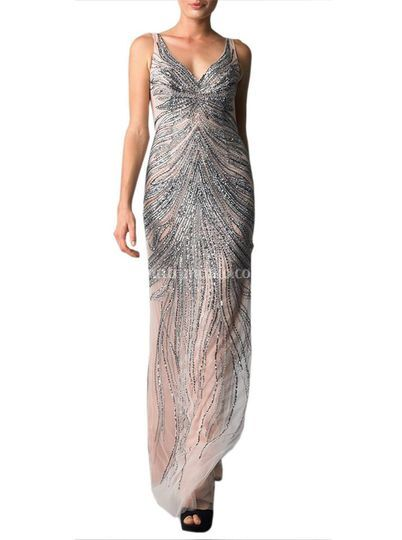 Pink Constellation Gown Sarta