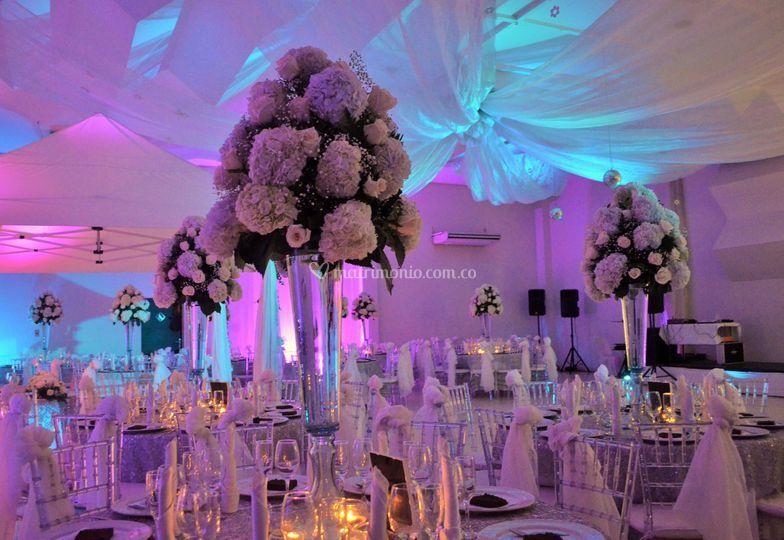 Gran salón matrimonio de lujo