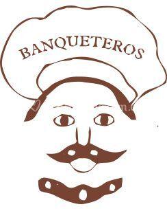 Logo banquetes rico y sabrosón